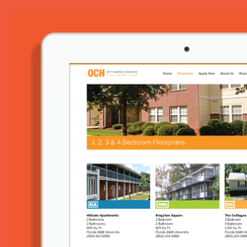 Off Campus Housing | Branding