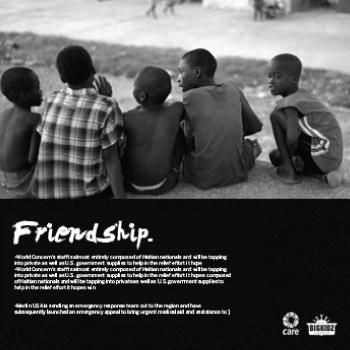 Haiti Relief Fundraiser | Branding, Direct Mail, Print, Environmental Graphics